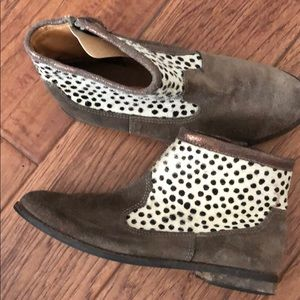 Girls Cotton On Suede Booties
